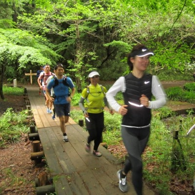多摩丘陵コース 23キロ