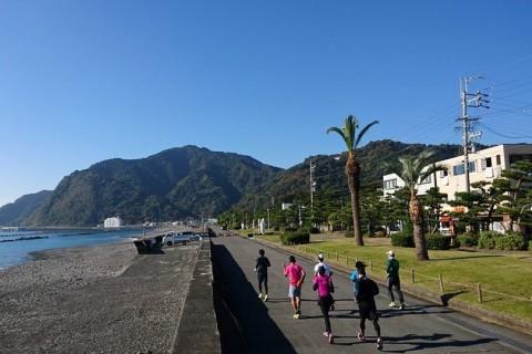 第二回静岡を元気に!町中からみなと町もちむねへつなぐ・駿河葵ランニング会