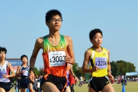 はんだシティマラソン2017 マラソン部門3km(中学生)