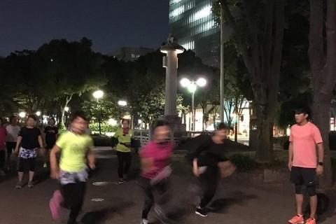 【初心者向けレッスン】女性限定☆ナイトラン