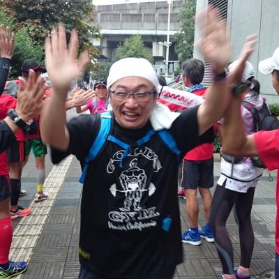 ランステ:「さいたま国際M」コース試走街ラン 42km①