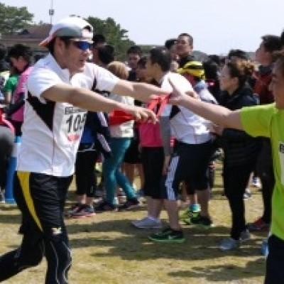 第1回 海の中道大芝生リレー&ソロマラソン大会