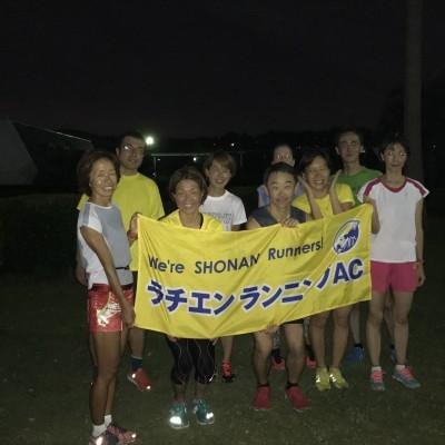 【12月定例夜】ラチエンランニングAC練習会  インターバル(200+400)×5