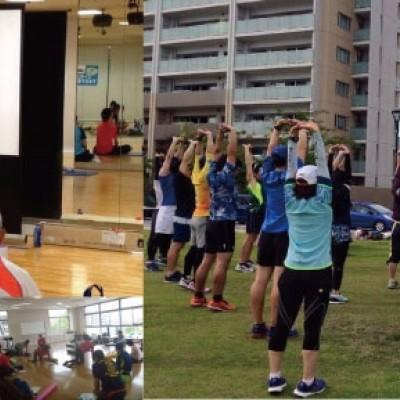 【福岡開催】すぐに効く!こじこじ先生のランナーのためのコアトレ「走ろうにっぽん」実技&ランニング