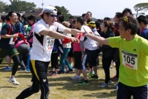 玄海灘30キロマラソン&リレー祭りin海の中道2018