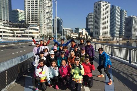 横浜のフルマラソン試走会【前半①】