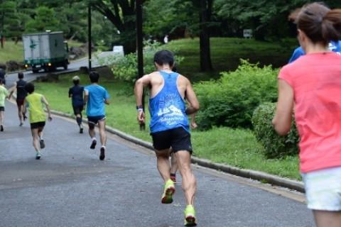 8/13(日)坂道インターバル走@yoyogipark