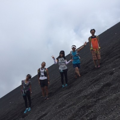 【初・中級向】富士山でトレイルラン17km!