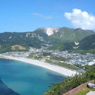 神津島(神津村と前浜)