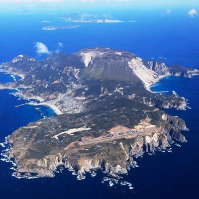 神津島(神津島全景)