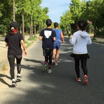 【大阪マラソン最終調整】大阪城公園練習会  調整走  Viento Running Club