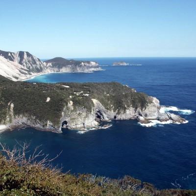 神津島(三浦展望台から)