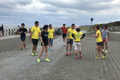 【11月休日練習会】ラチエン練習会 海辺インターバル(1km×5〜7)