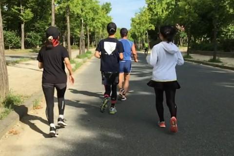 大阪城公園練習会  一人では出来ない練習をみんなでしませんか?走力を効果的に高める練習