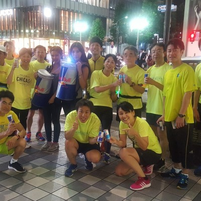 2018Monday Group Run(マンデーグループラン)