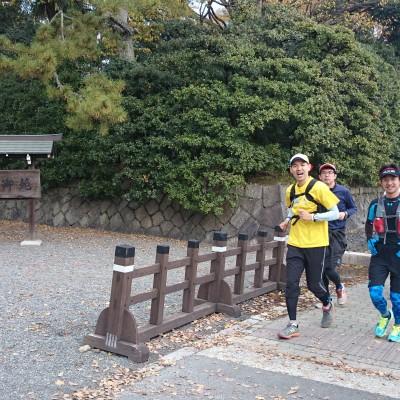 ランステ:「京都M」のコース試走 街ラン 42km 2017年12月①
