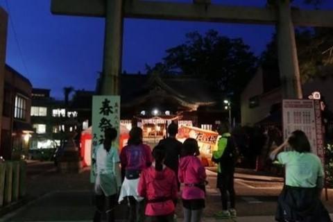 [JoyRun☆869th]ランで旅する<金沢ナイトラン・秋の夜のライトアップな街>