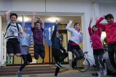 [JoyRun☆879th]ランで旅する〈新湊・ロケ地めぐり 日本のベニス5km〉