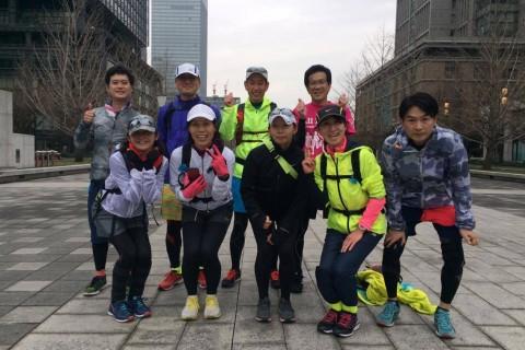 ランステ:「東京M」コース試走 街ラン42km(30kmの部併設)1月②