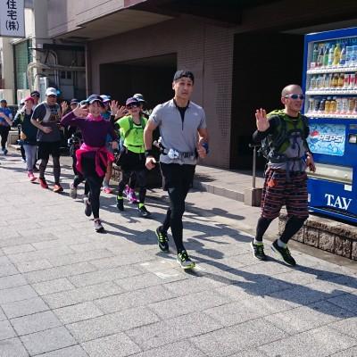 ランステ:「名古屋W」のコース試走 街ラン 42km 2018年①
