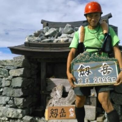 北アルプス山岳縦走トレイル(会代表者が単独実施)