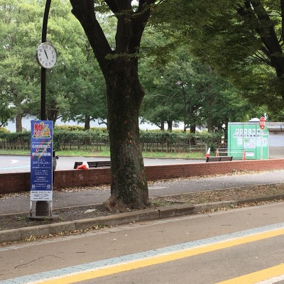 集合場所&スタート地点 チリリン広場と時計