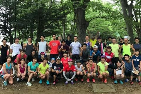 【10/22(日) 駒沢公園 1000m×10本】