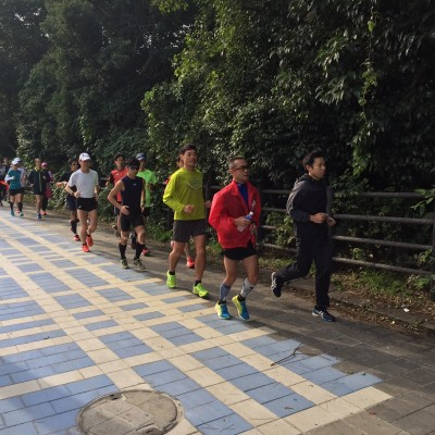 【勝田1週間前・別大二週間前】20kmペース走(T.T-AC)