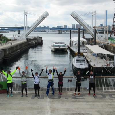 走り収めだよ!東京港ランは中野から皇居、銀座、勝鬨、豊洲、深川を巡る31km&21km&10km他