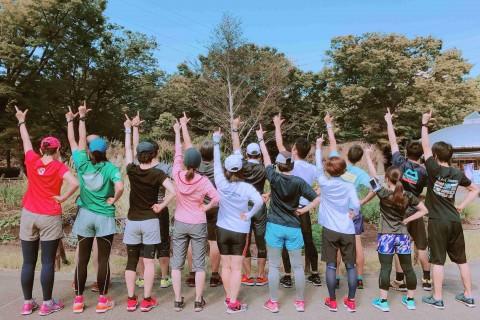 フルマラソン完走プロジェクト練習会 駒沢公園 ストレッチ/コンディショニング&楽に走るコツ習得