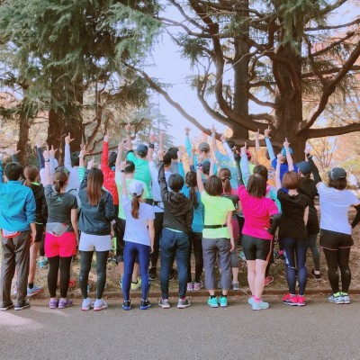 フルマラソン完走プロジェクト練習会 駒沢公園 30分で姿勢改善!フォームもがらっと変わるエクササイズ