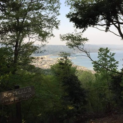 若狭総合公園内 天ヶ城山からの眺め