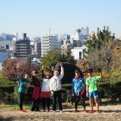 東京M本番日に観光ラン!満開の紅梅&河津桜と新国立競技場と富士山を眺める21km~10km