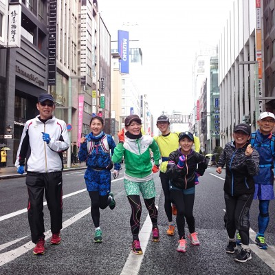東京マラソンのポイントになる部分コース試走会