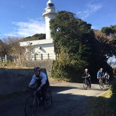 太東埼灯台に向かう坂は、実写版弱虫ペダルのロケ地になった激坂。あなたは何分で登れる?