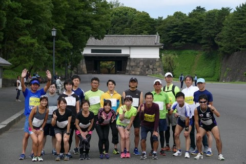 第3回平日皇居マラソン大会