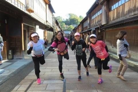 [JoyRun☆920th]<石畳の残る風情ある冬の武家屋敷と文化の香りがする本多の森5km>