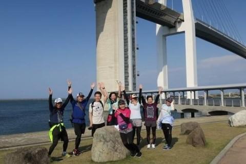 [JoyRun☆917th]ランで旅する〈新湊・ロケ地めぐり 日本のベニス5km〉