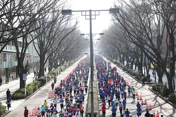 """第9回 渋谷・表参道Women's Run """"パワフル""""ボランティア募集"""