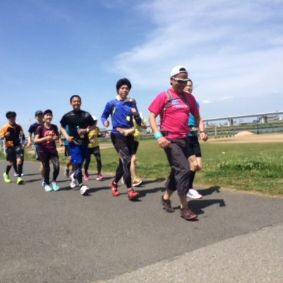 ランステ:ペーサーと走ろう!皇居30kmペース走
