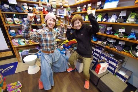 アイコとサチコと走る名古屋ウィメンズマラソン試走会