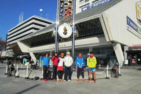 新春ランは早稲田から堀之内に大会記録更新と健脚が叶うパワスポを巡る30km&20km&13km他
