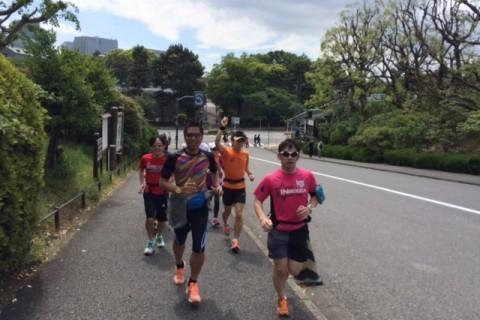 ランステ公認練習会「皆と一緒なら走れます!春満喫ロングマラニック50km」4月