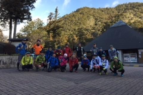 2018OSJ新城トレイル32K直前試走会