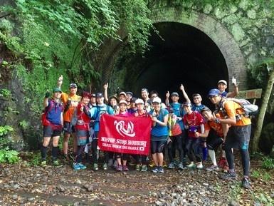 はじめての中山廃線トンネル冒険トレイルラン