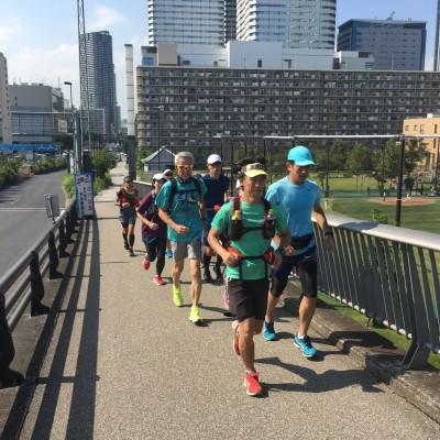 ランステ:「GWスペシャル マラニックで東京旅行! 2日で100km」 1日目50km