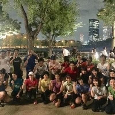 平日昼間鶴見緑地マラソン・トレイルランフォームカイゼン練習会