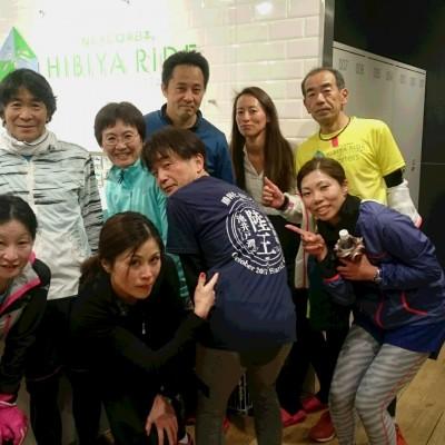 ランステ公認練習会:伴野コーチの「皇居3周 ビルドアップ走」(キロ6分~) 18年4月(2)