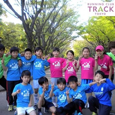 運動会に向けた春休み子どもの走り方教室@駒沢公園