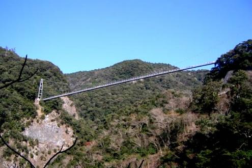 世界最大級の吊橋!「照葉大吊橋」コース(綾町)